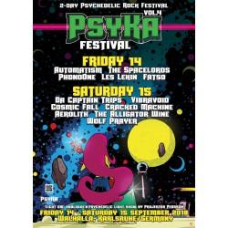 PsyKA Festival Vol. 4 Poster (DIN A1)