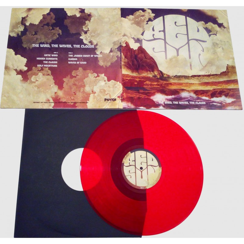 Red Sun The Wind The Waves The Clouds Lp Psyka Records